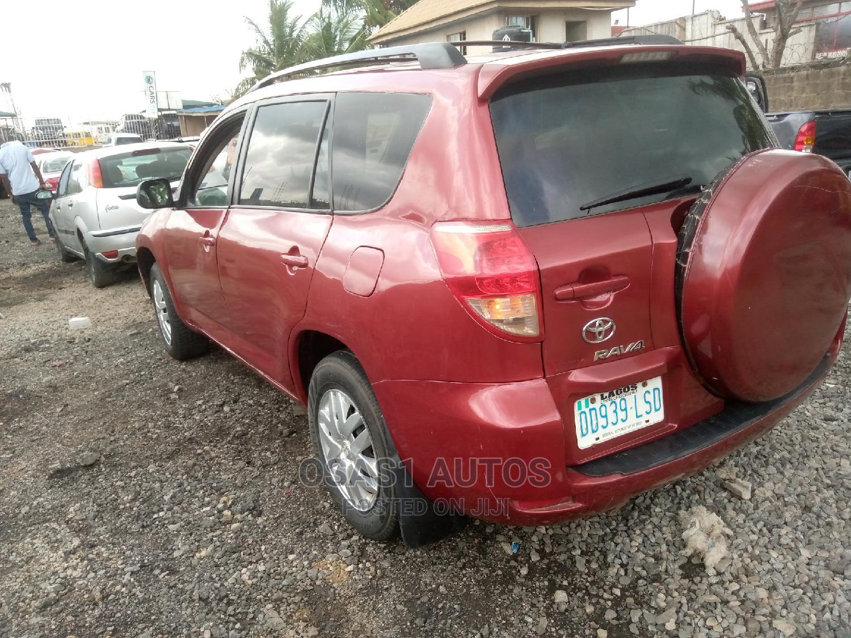 Toyota RAV4 2008 Red   Cars for sale in Ojodu, Lagos State, Nigeria