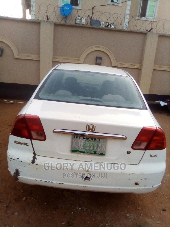 Honda Civic 2002 White | Cars for sale in Agbara-Igbesan, Lagos State, Nigeria