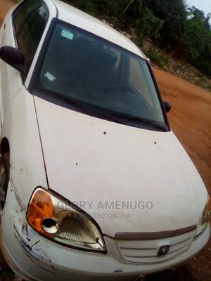 Honda Civic 2002 White | Cars for sale in Lagos State, Agbara-Igbesan