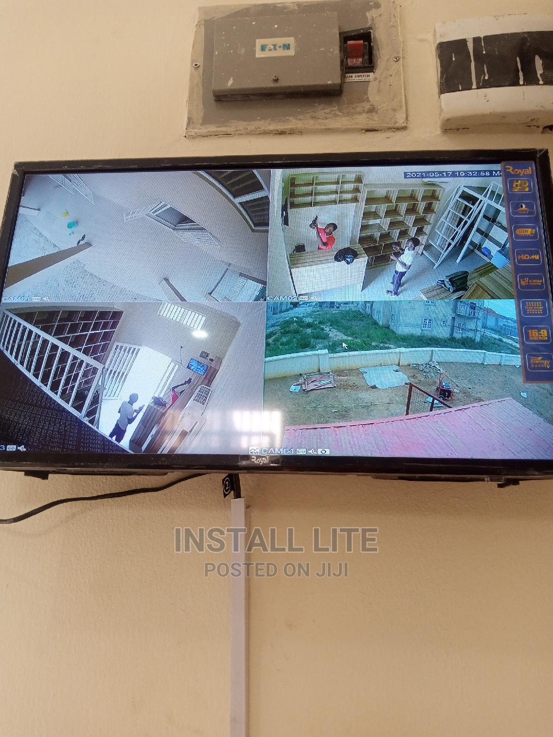 Archive: CCTV Cameras/Audio Security Systems Installation and Sales