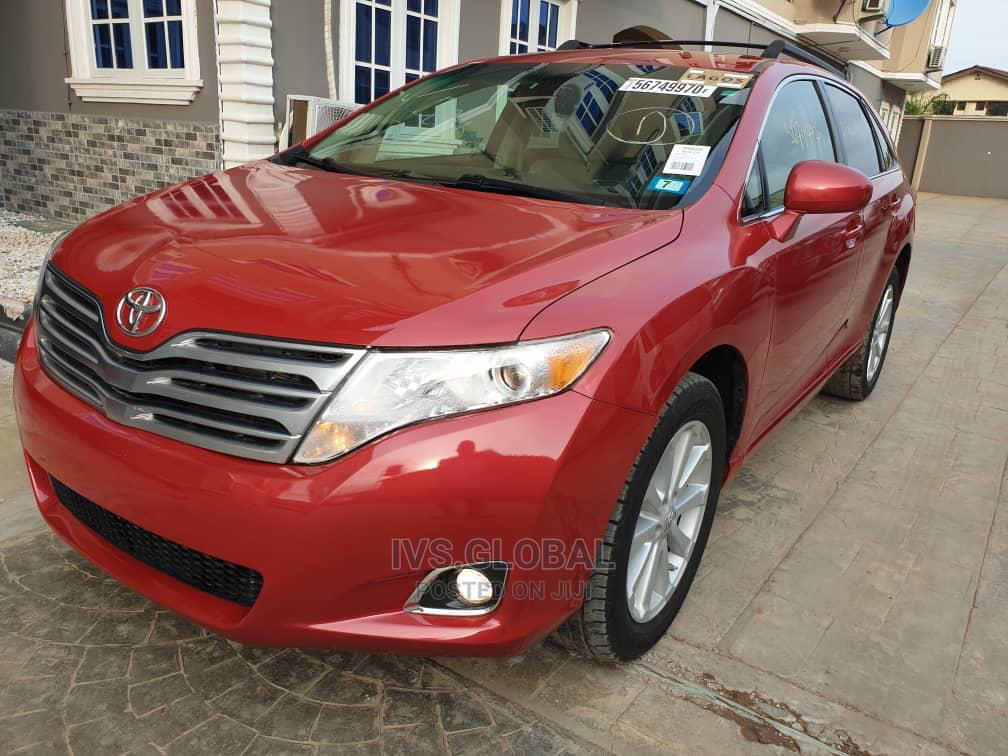 Toyota Venza 2010 Red | Cars for sale in Ajah, Lagos State, Nigeria