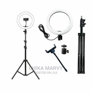 10 Inches Ringlight With 2.1m Tripod Stand | Accessories & Supplies for Electronics for sale in Rivers State, Port-Harcourt