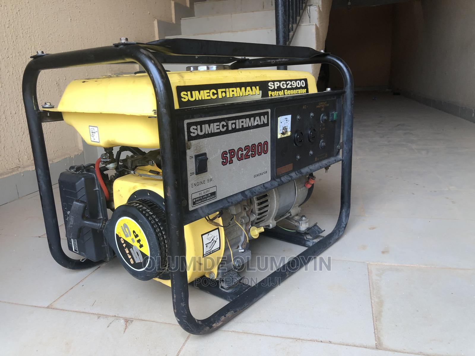 Neatly Used Sumec Firman Generator for Sale