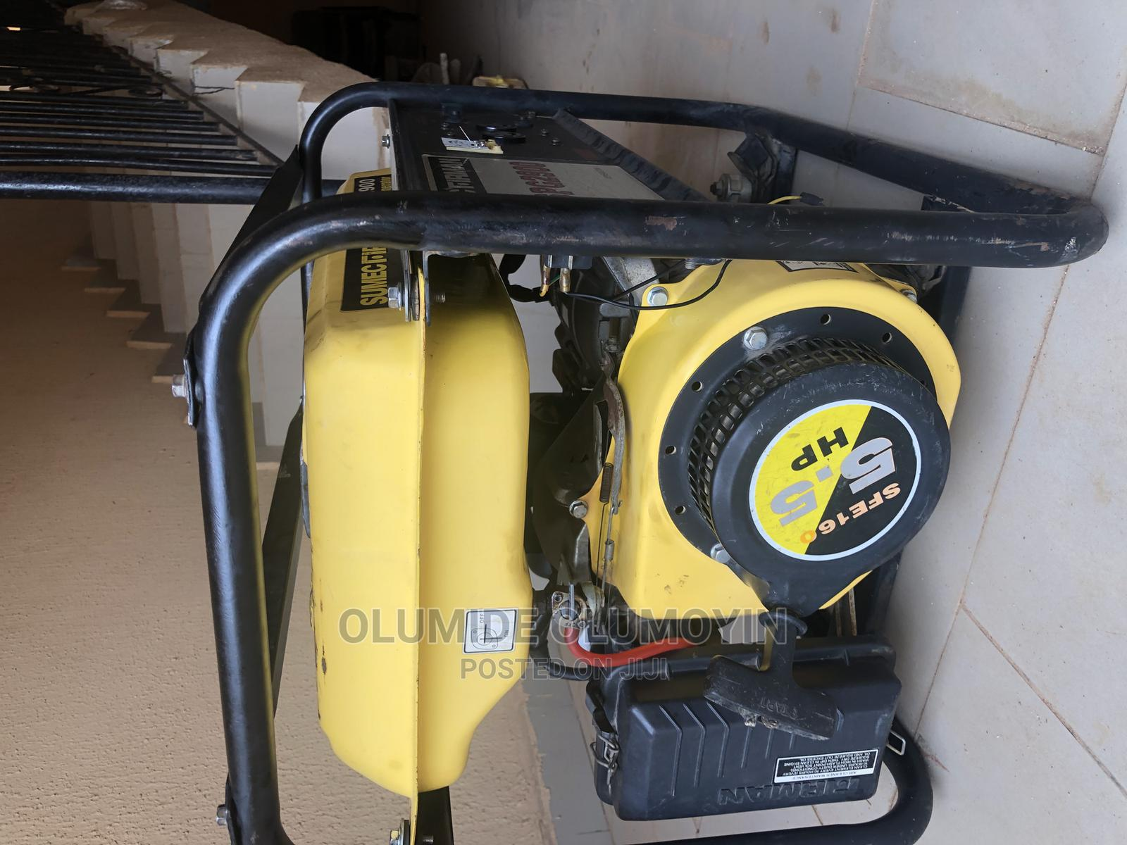 Neatly Used Sumec Firman Generator for Sale   Electrical Equipment for sale in Kubwa, Abuja (FCT) State, Nigeria