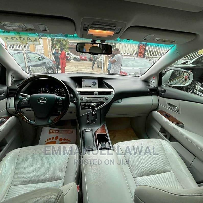 Archive: Lexus RX 2012 350 AWD Silver