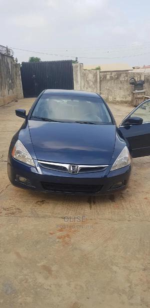Honda Accord 2007 2.4 Exec Blue   Cars for sale in Lagos State, Ikorodu