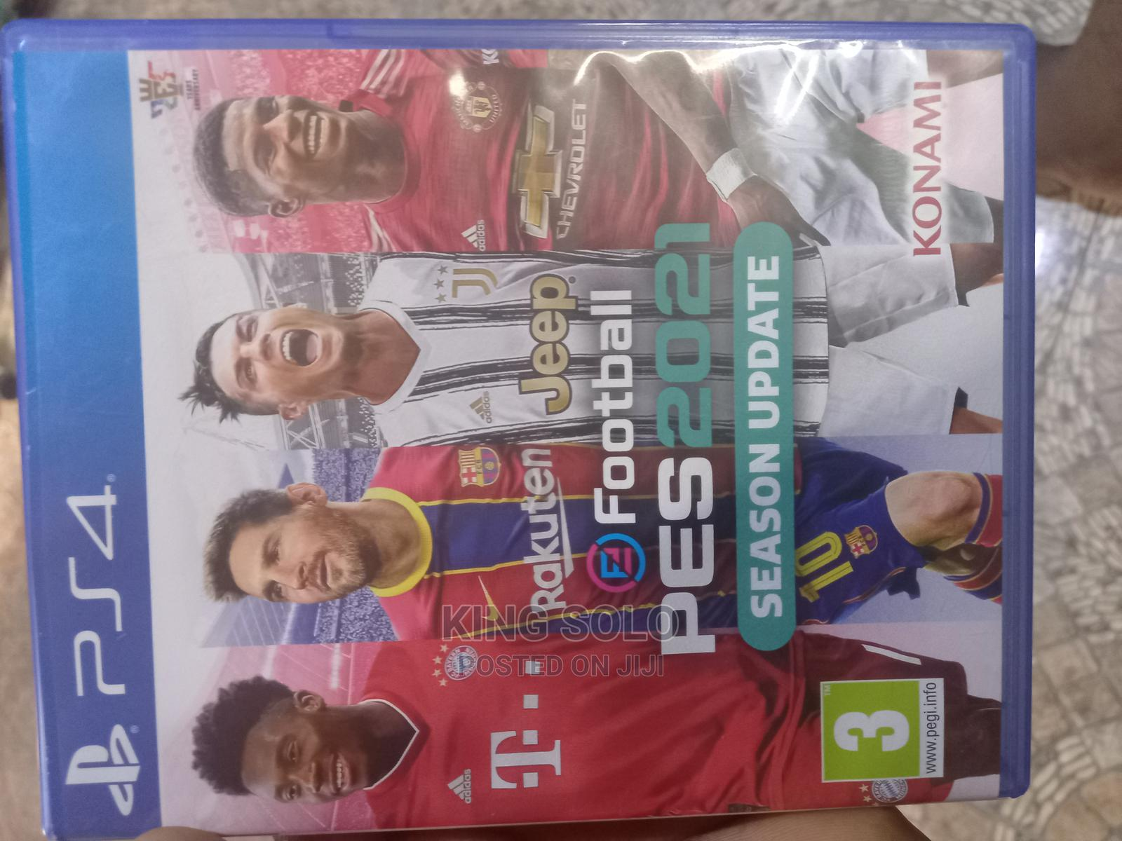 Archive: PES 2021 Football