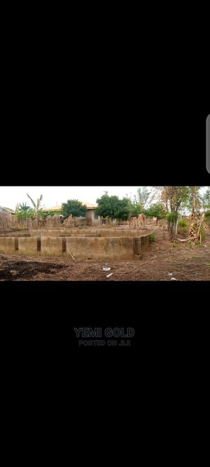 Half Plot With 3bedroom Foundation on It   Land & Plots For Sale for sale in Ibadan, Alakia
