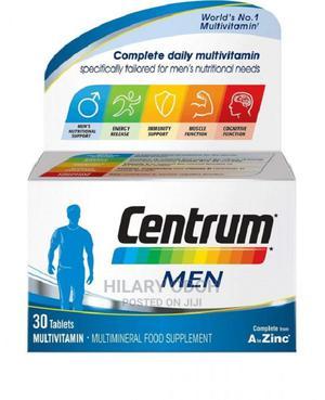 Centrum Men 30tablets Multivitamin Multimineral | Vitamins & Supplements for sale in Lagos State, Ojo