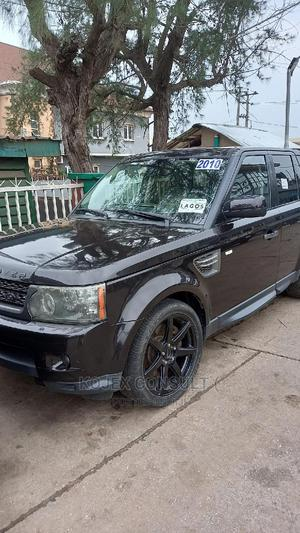 Land Rover Range Rover Sport 2010 HSE 4x4 (5.0L 8cyl 6A) Black   Cars for sale in Lagos State, Ikeja