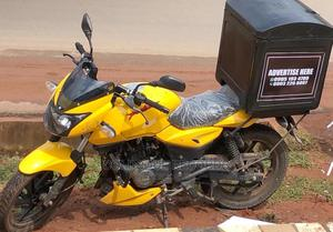 New Bajaj 2020 Yellow | Motorcycles & Scooters for sale in Edo State, Benin City