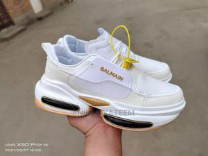 Quality Designer Leather Sneakers Balmain Available for U | Shoes for sale in Lagos State, Lagos Island (Eko)