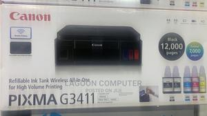 CANON PIXMA G3411 Wireless All-In-One Inkjet Printer | Printers & Scanners for sale in Lagos State, Ikeja