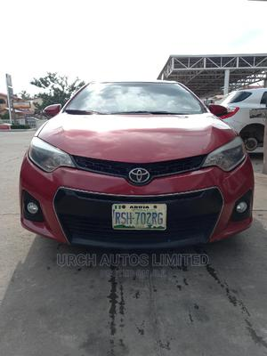 Toyota Corolla 2014 Red | Cars for sale in Abuja (FCT) State, Wuse 2