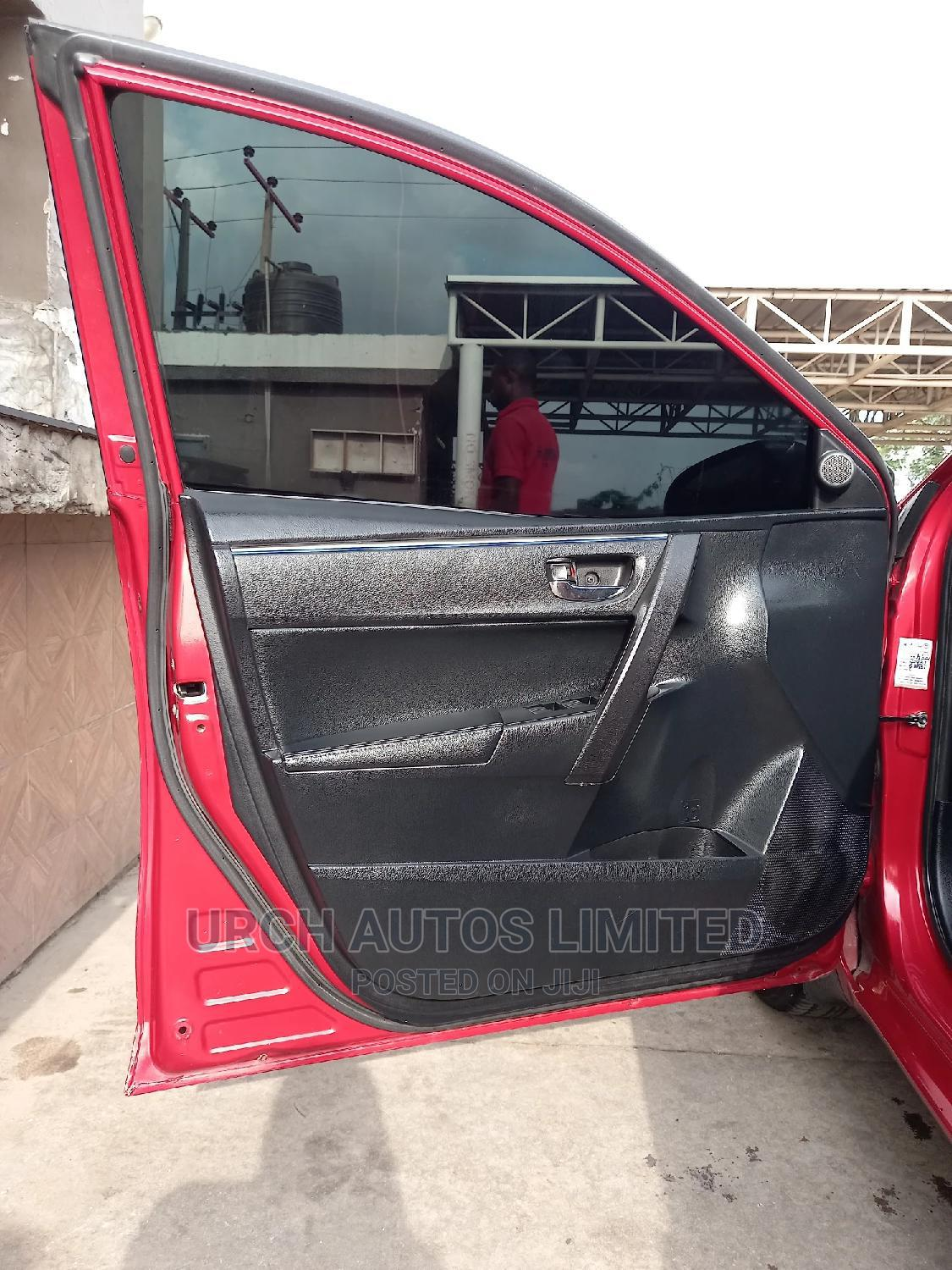 Toyota Corolla 2014 Red | Cars for sale in Wuse 2, Abuja (FCT) State, Nigeria