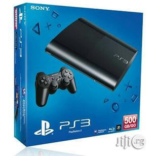 Sony Playstation 3 Slim 500gb Console   Video Game Consoles for sale in Lagos State, Ikeja