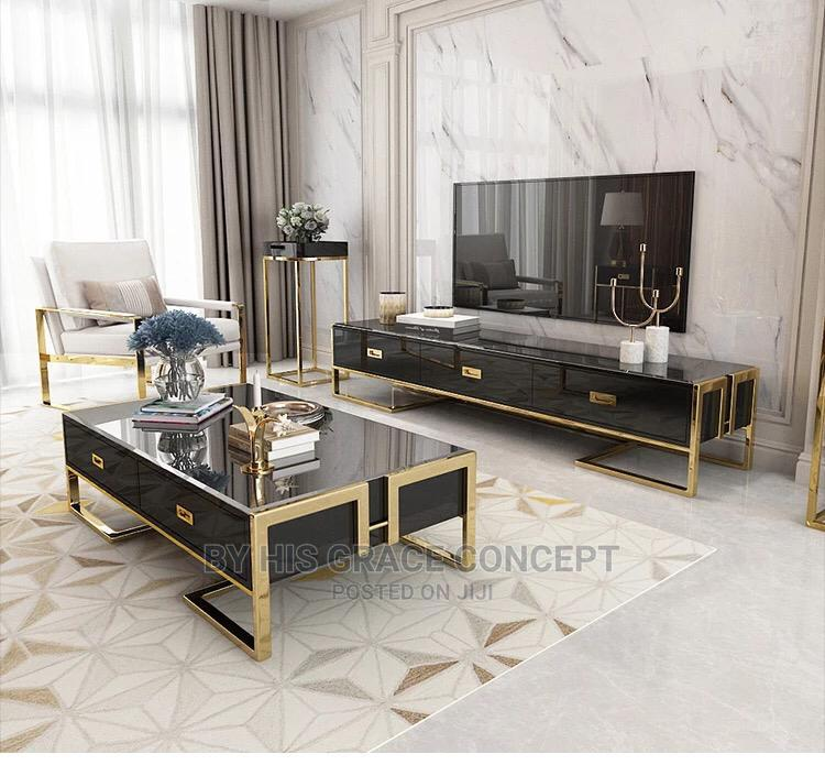 Archive: Console Center Table With Tv Cabinet