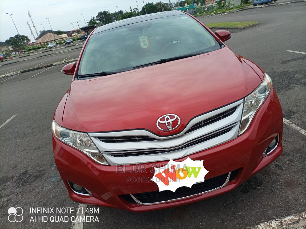 Toyota Venza 2010 Red