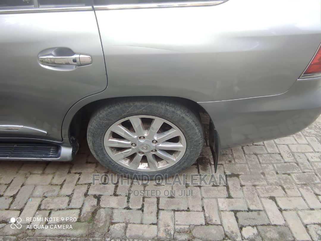 Lexus LX 2011 570 Gray   Cars for sale in Surulere, Lagos State, Nigeria