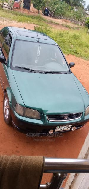 Honda Civic 1996 EX 4dr Sedan Blue | Cars for sale in Edo State, Auchi