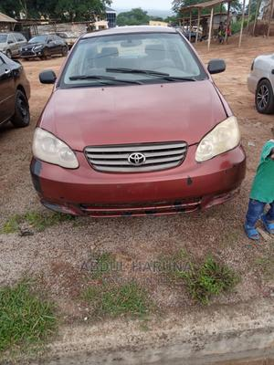 Toyota Corolla 2005 1.4 D-4d Automatic Red   Cars for sale in Edo State, Auchi