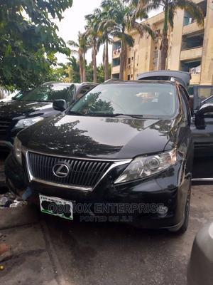 Lexus RX 2012 350 FWD Black | Cars for sale in Abuja (FCT) State, Garki 1