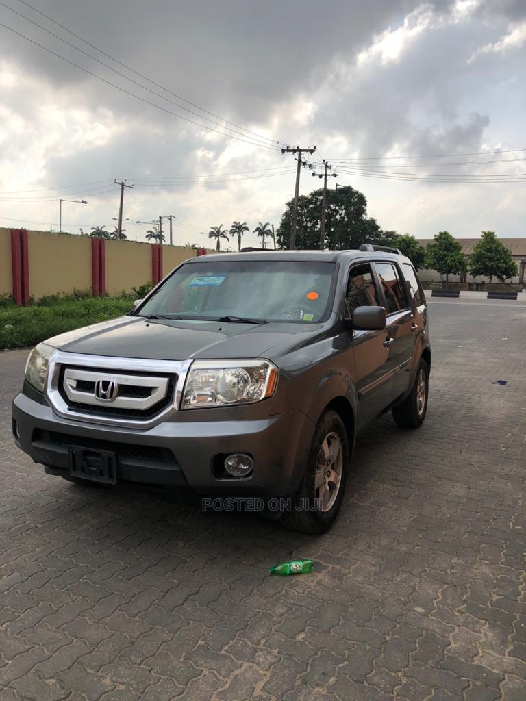 Honda Pilot 2010 Gray | Cars for sale in Ogba, Lagos State, Nigeria