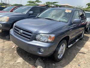 Toyota Highlander 2006 Limited V6 4x4 Blue | Cars for sale in Lagos State, Apapa