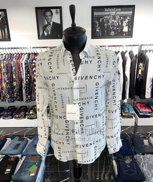 High Quality GIVENCHY White Shirts for Men   Clothing for sale in Lagos State, Magodo