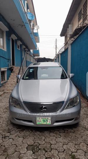 Lexus LS 2007 460 Luxury Sedan Silver | Cars for sale in Lagos State, Ogudu