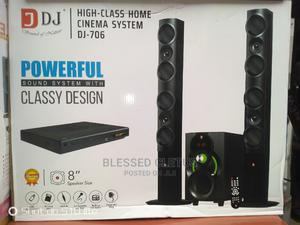 Djack Heavy Woofer Bluetooth Home Theater System DJ-706 | Audio & Music Equipment for sale in Lagos State, Ojo