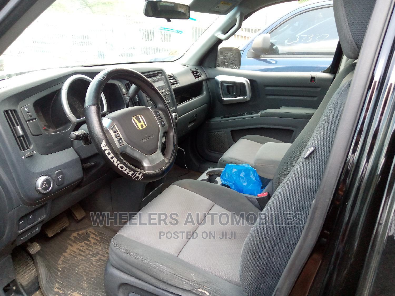 Honda Ridgeline 2007 Black   Cars for sale in Amuwo-Odofin, Lagos State, Nigeria
