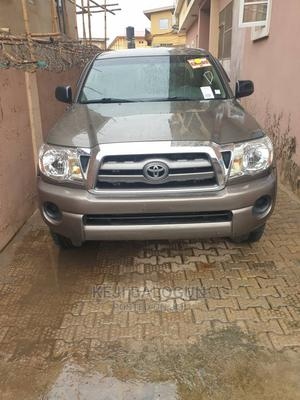 Toyota Tacoma 2010 Double Cab V6 Automatic Green   Cars for sale in Lagos State, Ifako-Ijaiye