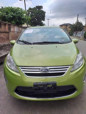 Ford Fiesta 2012 S Sedan Green   Cars for sale in Lagos State, Surulere