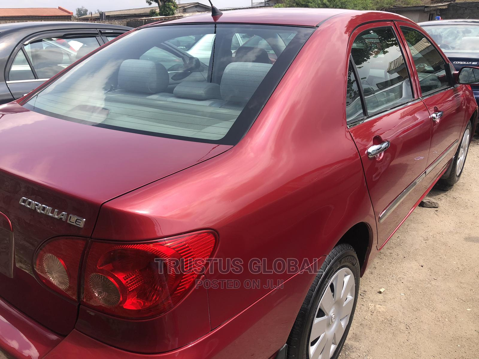 Toyota Corolla 2005 LE Red | Cars for sale in Apapa, Lagos State, Nigeria
