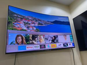 55inches Curve Samsung | TV & DVD Equipment for sale in Lagos State, Ojo