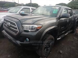 Toyota Tacoma 2016 4dr Double Cab Gray | Cars for sale in Lagos State, Apapa