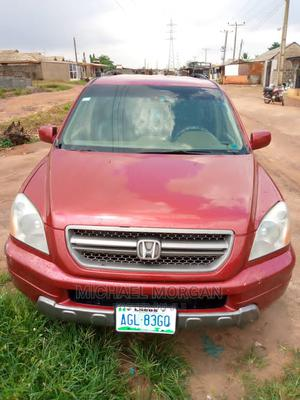 Honda Pilot 2006 EX 4x4 (3.5L 6cyl 5A) Red | Cars for sale in Lagos State, Alimosho