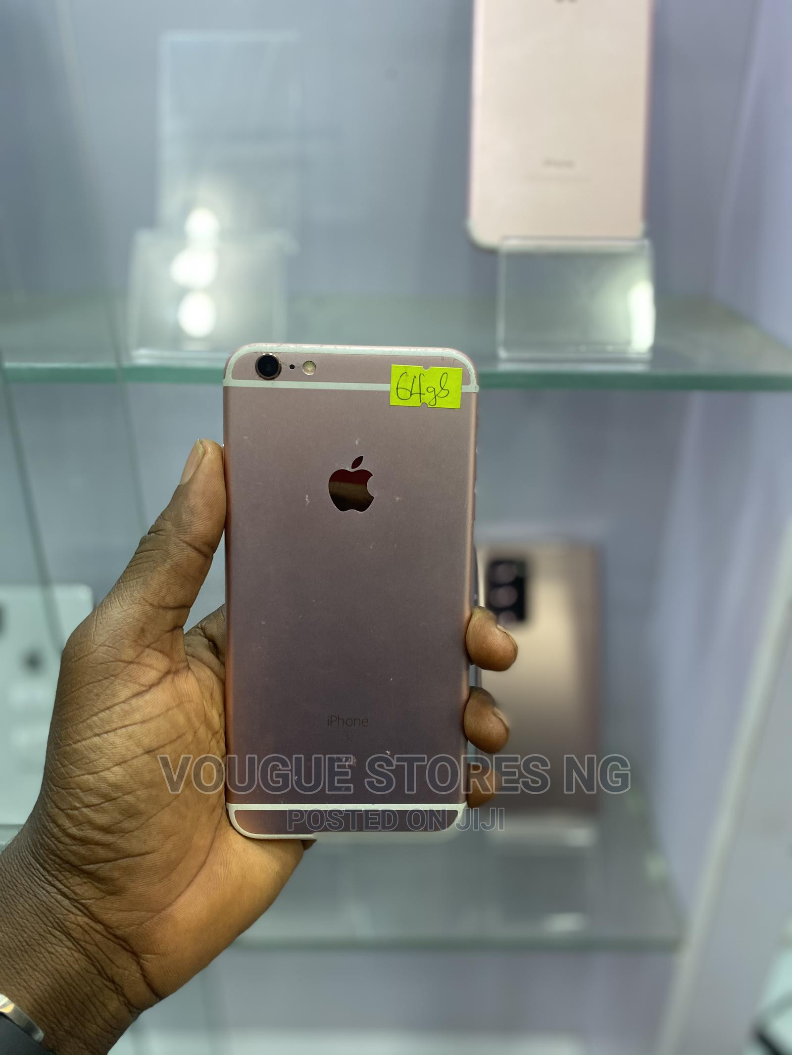 Apple iPhone 6s Plus 64 GB Pink   Mobile Phones for sale in Ikeja, Lagos State, Nigeria