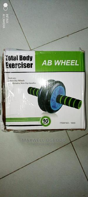 TABLE Body Exercise Ab Wheel | Sports Equipment for sale in Lagos State, Surulere
