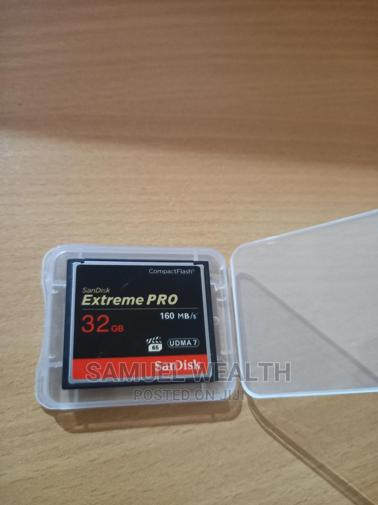 Archive: CF Card 32 Gb 160mb/S