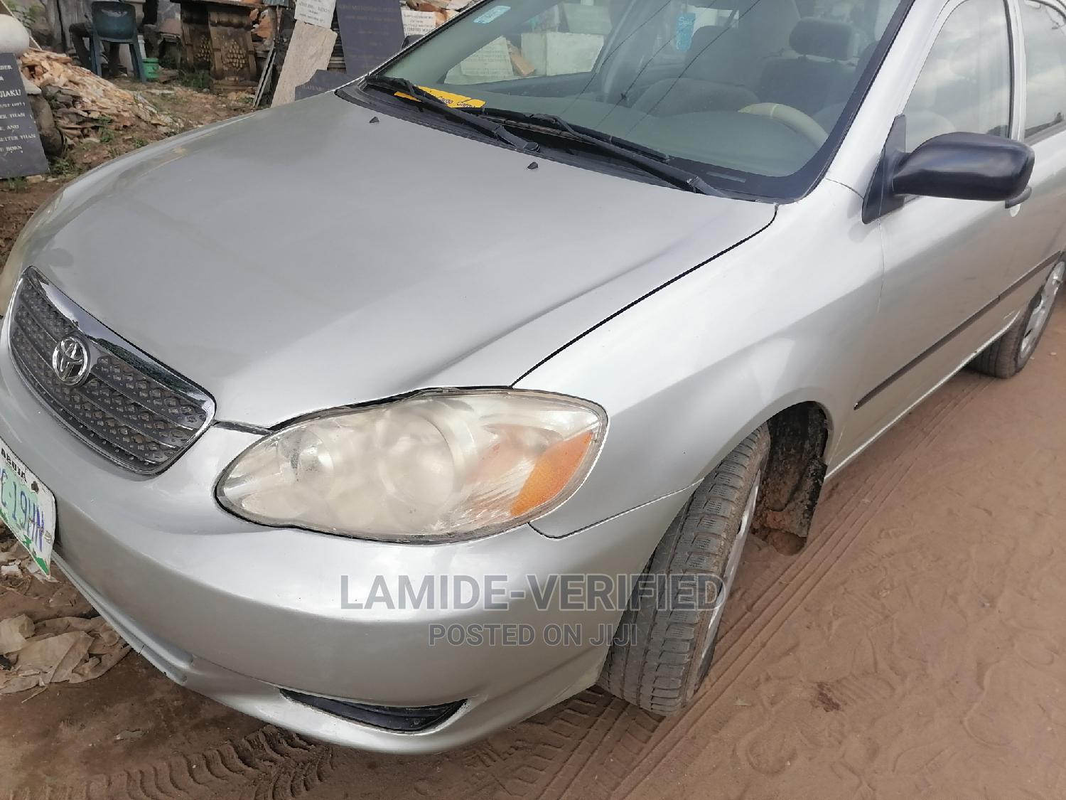 Toyota Corolla 2004 LE Silver   Cars for sale in Alimosho, Lagos State, Nigeria