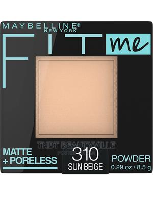 Maybelline Fit Me Matte + Poreless Powder.   Makeup for sale in Lagos State, Victoria Island