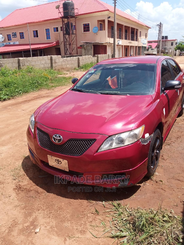 Toyota Camry 2007 Red   Cars for sale in Aniocha North, Delta State, Nigeria