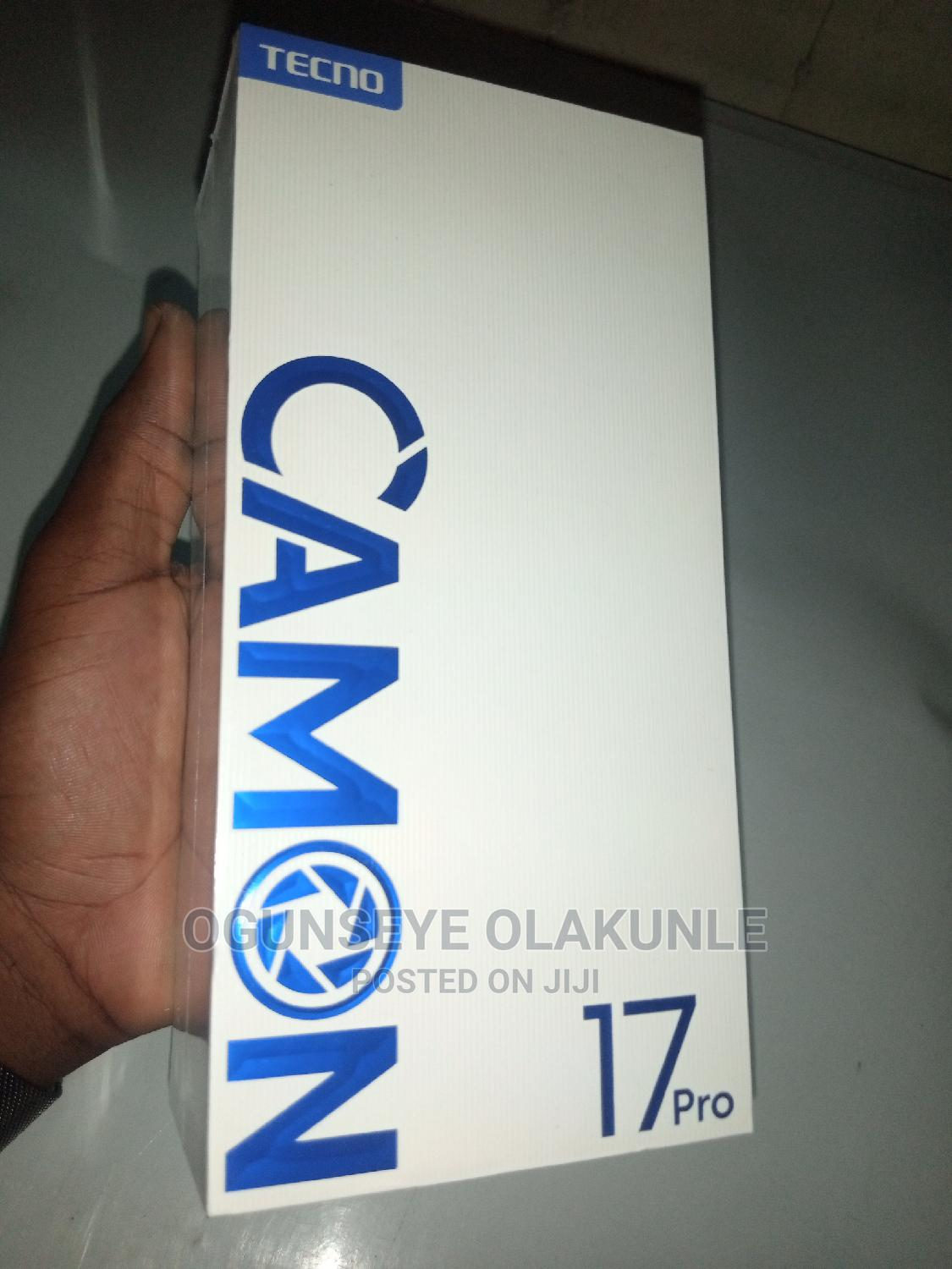 New Tecno Camon 17 Pro 256 GB Other | Mobile Phones for sale in Surulere, Lagos State, Nigeria