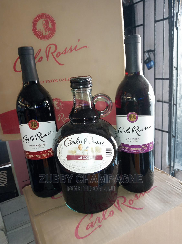 Carlo Rossi Califonia Red Wine
