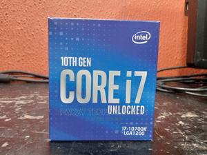 Intel Core I7-10700k Desktop Processor 8 Cores Ghz Unlocked   Computer Hardware for sale in Lagos State, Ikeja