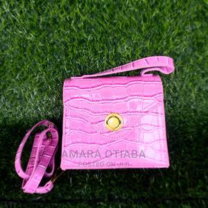 Ladies Pink Mini Handbag | Bags for sale in Lagos State, Ojo