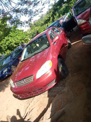 Toyota Corolla 2004 LE Red | Cars for sale in Lagos State, Amuwo-Odofin