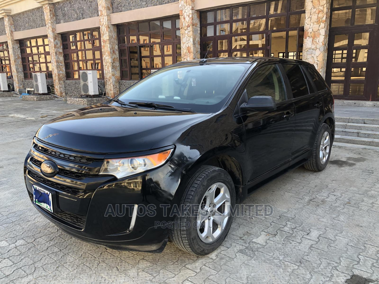 Ford Edge 2013 Black   Cars for sale in Ajah, Lagos State, Nigeria